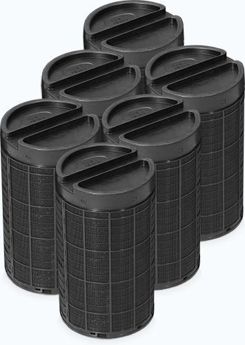SmogBox - innowacyjny filtr antysmogowy skutecznie filtrujący pyły zawieszone PM1, PM2.5 i PM10, jak również typowe zapachy wchodzące w skład smogu i dymów - Kasety z węglem aktywowanym