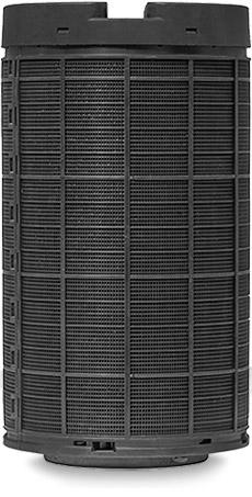 SmogBox - innowacyjny filtr antysmogowy skutecznie filtrujący pyły zawieszone PM1, PM2.5 i PM10, jak również typowe zapachy wchodzące w skład smogu i dymów - Filtr z węglem aktywowanym front